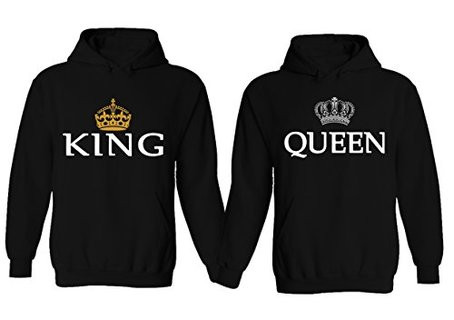 Matching King And Queen Hoodies