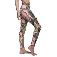 Light Pink Camouflage Leggings Are In Stock and Shipping From the USA