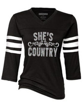 She's Country Sports Tees