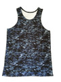 Black Digital Camo Tank Top - Workout or Casual Wear