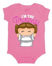 Star Wars Princess Leia Onesie for Newborns To 24 months