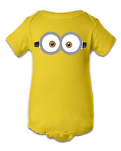 Minion Baby Snap Suit