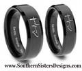 1 Corithians Faith Hope Love Ring Set