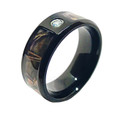 Men's Rough Country Camouflage Ring With Stone