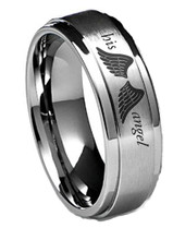 His Angel Ring with Wings For Girlfriend, Wife, Wedding Promise