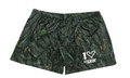 I Love Fishing Women's Camo Shorts Soft