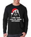 Darth Vader Santa - I Find Your Lack of Cheer Disturbing Long Sleeve T-Shirt