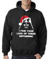 Darth Vader Santa - I Find Your Lack of Cheer Disturbing Christmas Hoodie