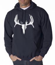 Antler Deer Skull Hoodie