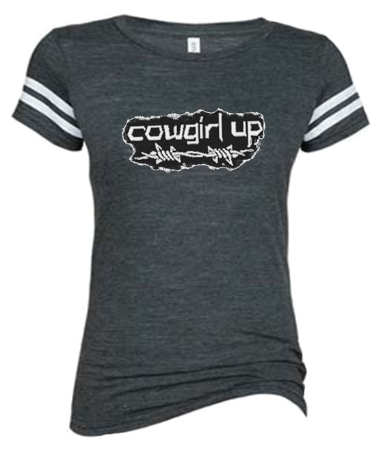 12b0da5b Cowgirl Up Sports Tee For The Country Girl