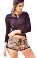 Mossy Oak Pajama Shorts - sleeping or lounging