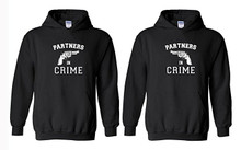 Hoodies Set For Couples - Partners in Crime