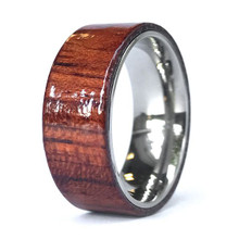 Evey Loves Jack Daniels - Whiskey Barrel Wood Rings For Him or Her