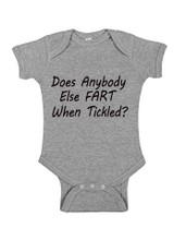 Fart When Tickled Onesie