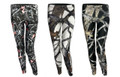 3 Pack Camo Leggings - White, Marsh, Black