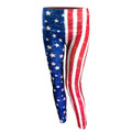 American Flag Leggings - Grunge, Distressed