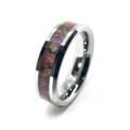Purple Camouflage Rings
