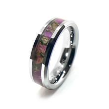 Women's Purple Camouflage Rings