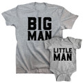 Big Man Little Man Infant Combo Set