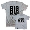 Big Man Little Man Shirt Set