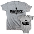Maverick and Goose Top Gun Combo Set for Fathers and Sons