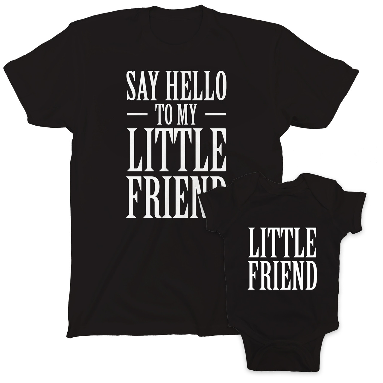 ebc0ec707 Say Hello to My Little Friend Parent Child Combo Set - Southern ...