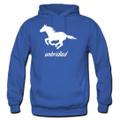 Unbridled Running Free Horse Lover Hoodies