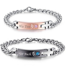 Buck and Doe Bracelet Set For Couples