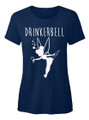 Drinkerbell Funny Disney Princess Drinking T Shirt