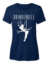 Drinkerbell Funny Disney Princess Drinking T Shirt