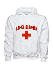 White Life Guard Hoodie