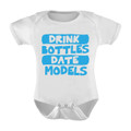 Drink Bottles DateModels Onesie