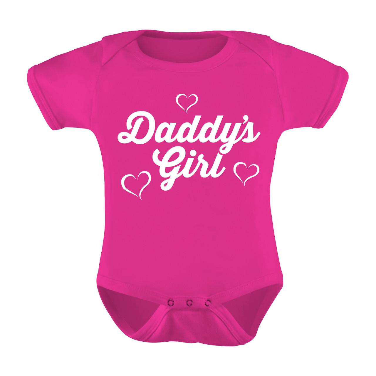 4640cc595ca99 Daddy's Girl Baby Onesies