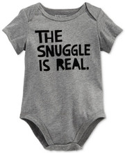 The Snuggle Is Real Cute Baby Onesie