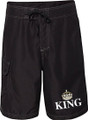 Just Married King Board Shorts