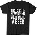 Funny Uncle Beer T Shirt about Niece or Nephew
