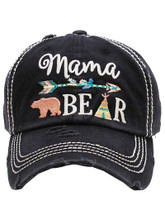 Mama Bear Vintage Ladies hat to match our shirts
