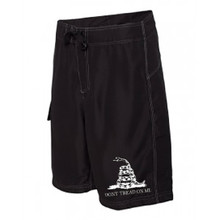 Don't Tread On Me Mens Board Shorts In Black