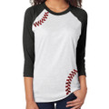 Baseball 3/4 Raglan T Shirt - Choose Color Sleeves