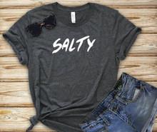 Beach fun sun sea salty tee shirt for ladies and teens