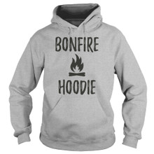 Bonfire Campfire Camping Hoodies  outdoors lovers
