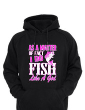 Hoodies for girls that love to fish - perfect gift