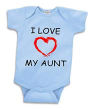 I Love My Aunt Baby Onesie