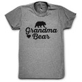 Grandma Bear T Shirt with Hearts