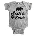 Baby Onesie for Sister bear