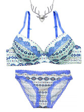 Lace Panty, Bra and Free Necklace - Gift