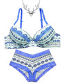 Free Necklace Gift With The Wilderness of Dreams Bra and panty set special