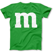 Green M St Patricks Day Shirt For Kids, Toddlers, Adults