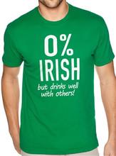 0% Irish T Shirts - Beer Drinking Funny