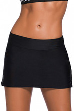 Black Swim Skirt